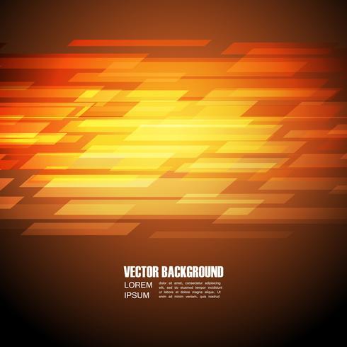 abstrakter orange Hintergrund vektor