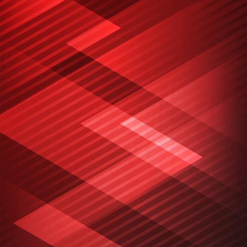 Roter Hintergrund der abstrakten eleganten geometrischen Dreiecke mit diagonalen Linien Mustertechnologieart. vektor
