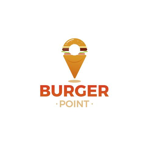 Logo für Restaurant oder Café oder Pizzeria. Vektor-illustration vektor