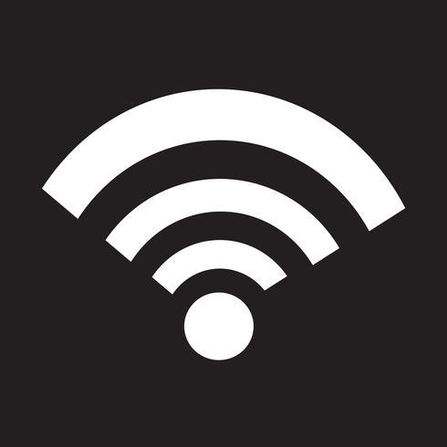 wifi ikon symbol tecken vektor