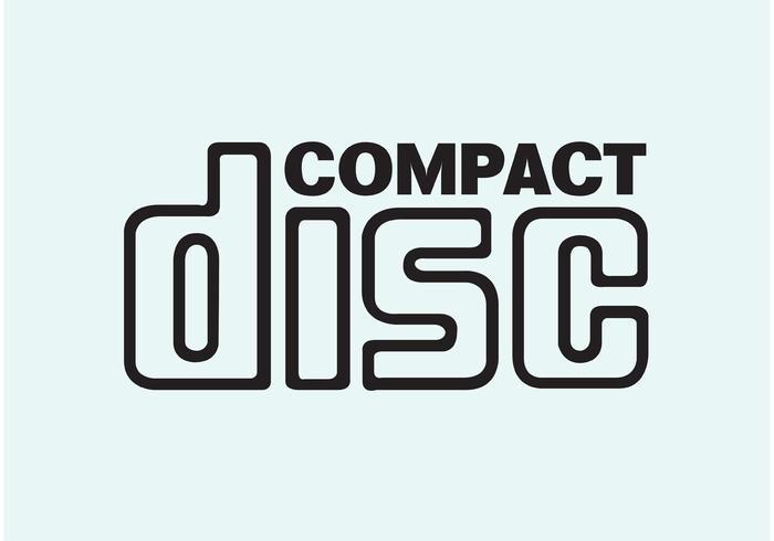 Kompakt disk vektor