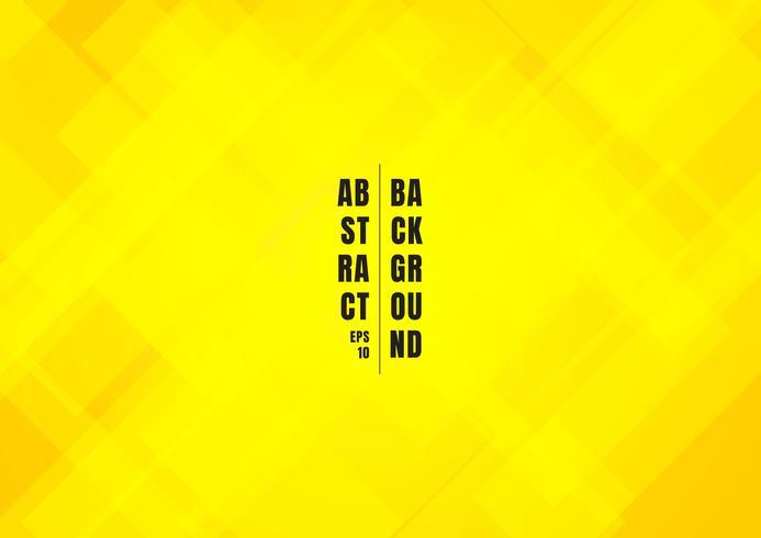 Abstrakte helle gelbe Farbe quadriert Hintergrund. vektor