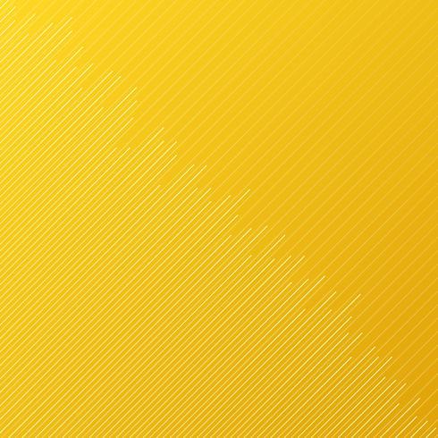 Abstrakt minimal designband och diagonala linjer mönster på gul bakgrund och textur. vektor