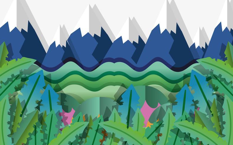 Papperskunster för papperskonst vektor