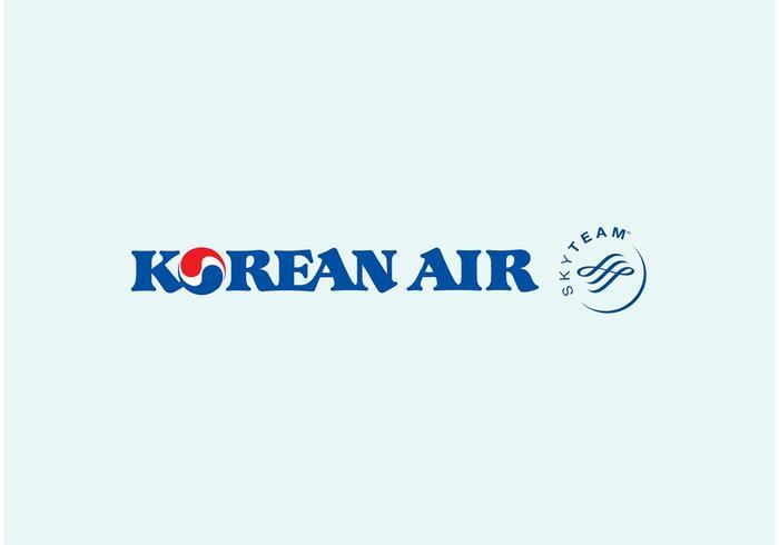 Koreansk luft vektor