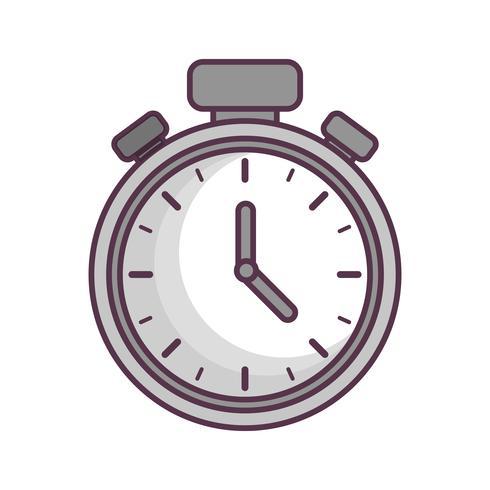 Chronometer-Symbolbild vektor