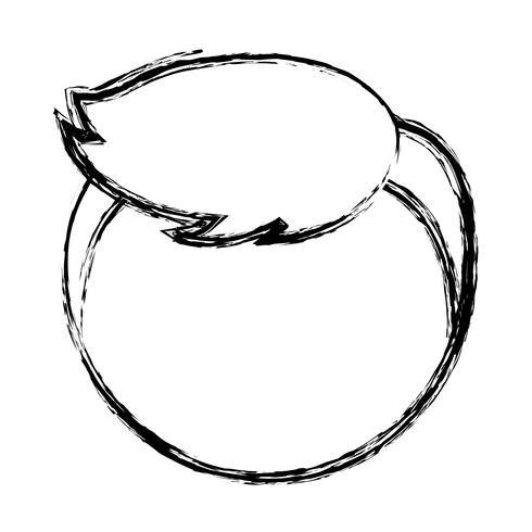 tecknad pojke ansikte ikon vektor
