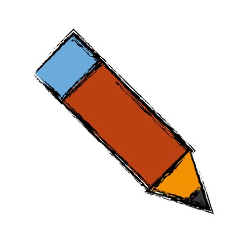 Bleistift-Utensilien-Symbol vektor