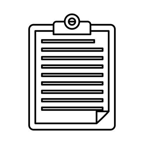rapport tabellikonen vektor