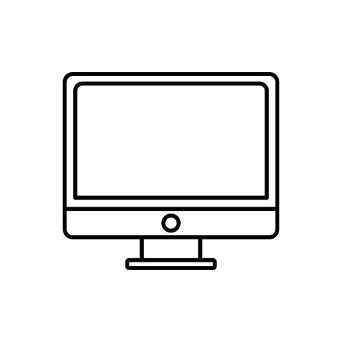 Computer-Symbolbild vektor