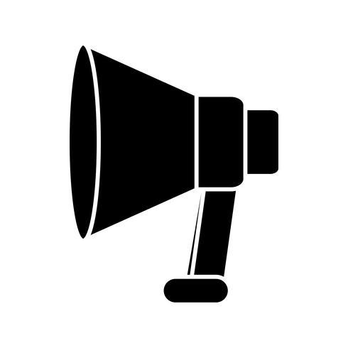 megafon-enhetens ikon vektor