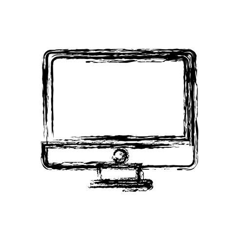 datorikonbild vektor
