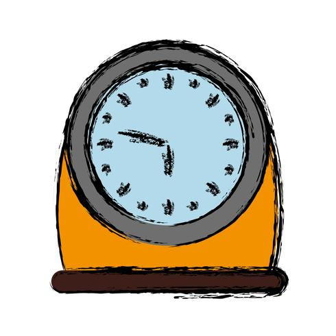 Uhrensymbol Bild vektor