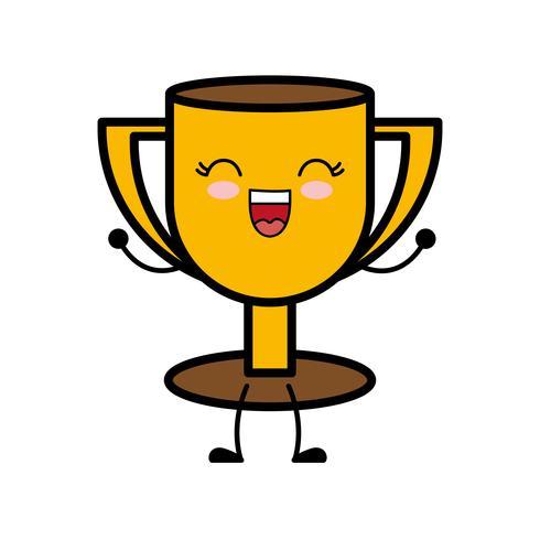 trofé cup ikon vektor