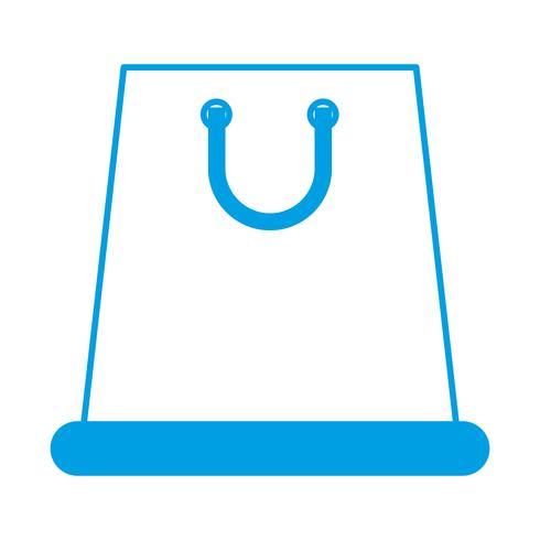 Einkaufstasche-Symbol vektor