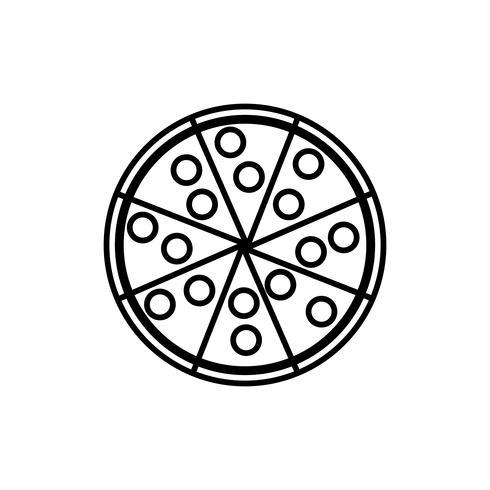 Fast-Food-Design vektor