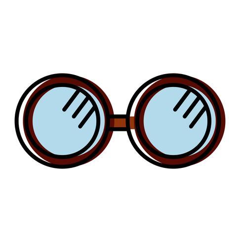 Brillen-Zubehör-Symbol vektor