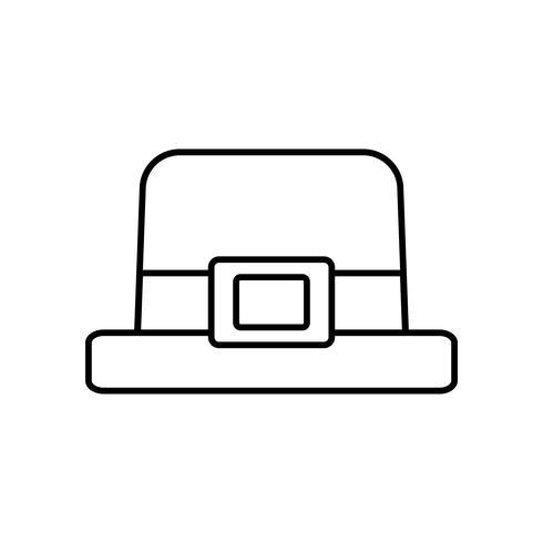 irischer Hutentwurf vektor