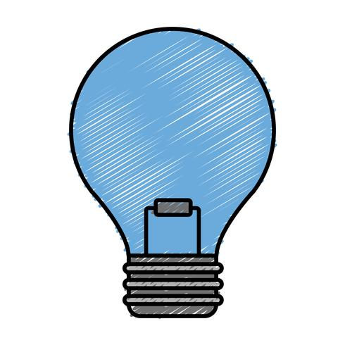 Glühbirne-Symbol vektor