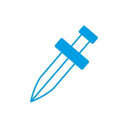 Schwert Symbolbild vektor