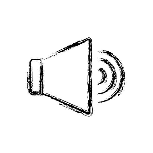 Lautsprecher-Symbolbild vektor