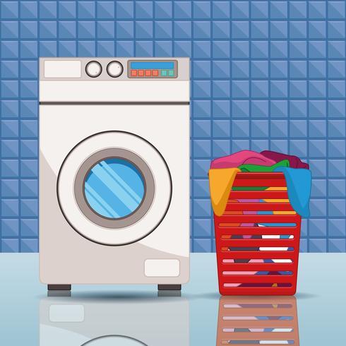 Reinigungs- und Reinigungszubehör vektor