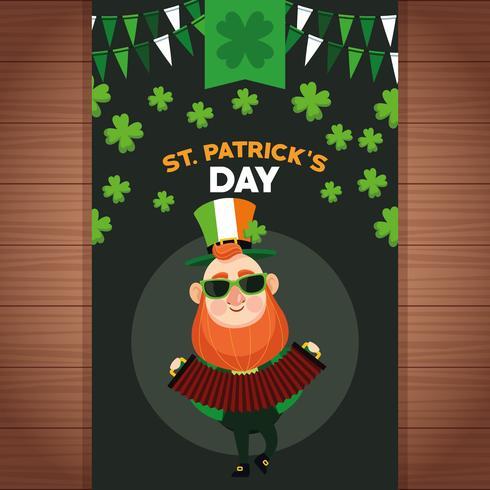 Glücklicher Tag des Heiligen Patricks vektor