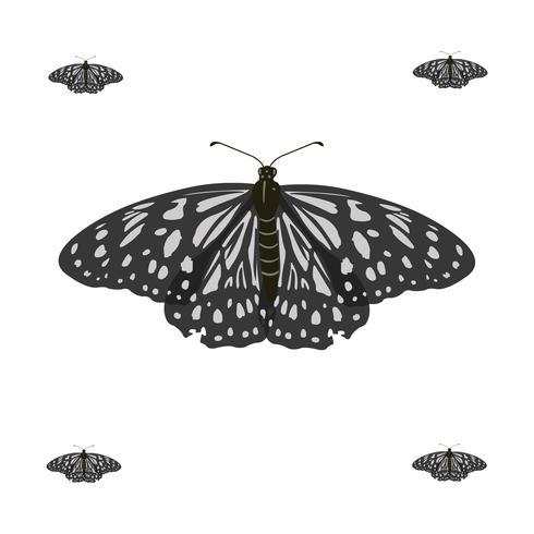 Realistische fliegende Basisrecheneinheits-vektorabbildung vektor