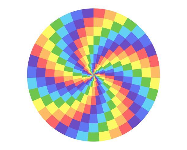 Regenbogen Farbkreis vektor