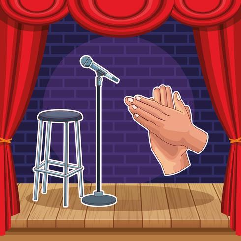 Show und Theater vektor