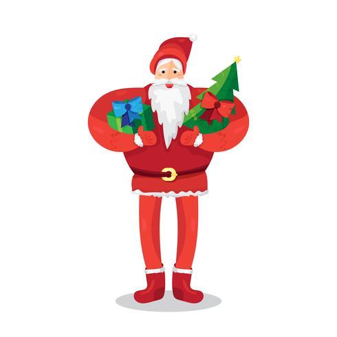 Weihnachten Santa Claus vektor