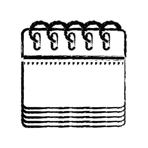 räkna kalenderinformation till arrangörens händelsedag vektor