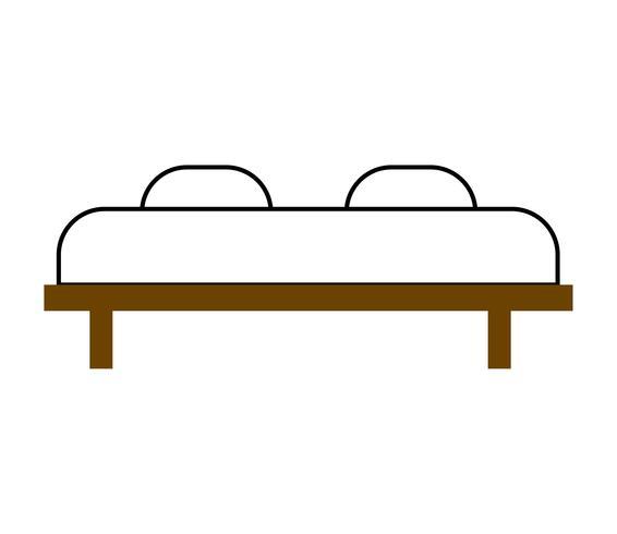 Bett für zwei Vektor