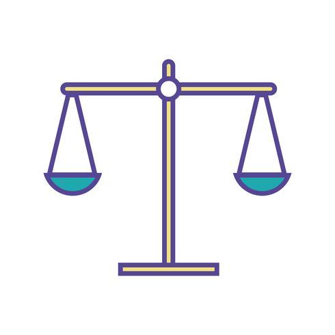 balans kilogram instrumentobjektdesign vektor