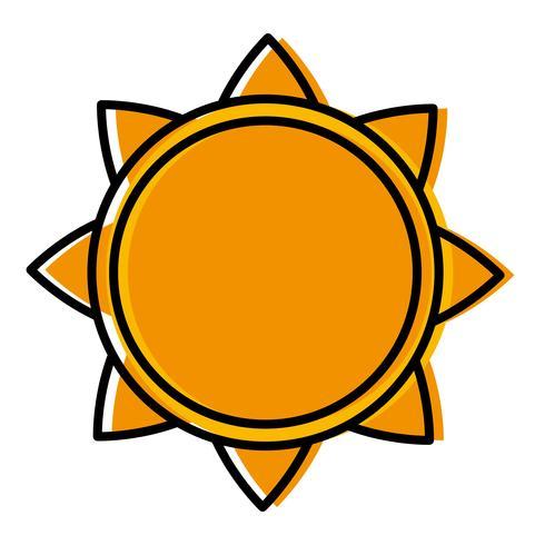 Sonne Symbolbild vektor