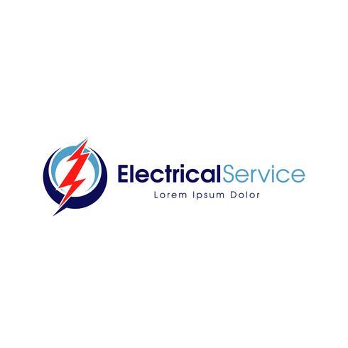 Elektrisches Service-Logo vektor