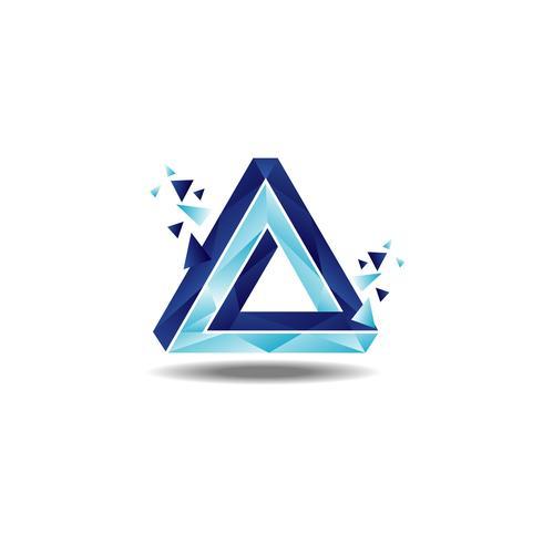 Dreieck-Penrose-Schleife vektor