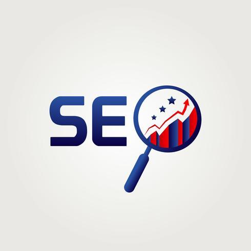 SEO Internet-Logo vektor
