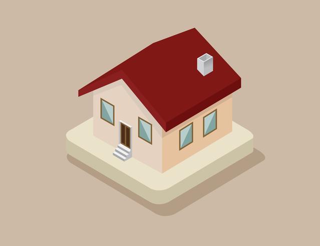 Haus-Symbol Vektor