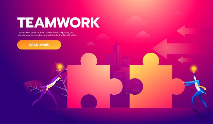 Geschäfts-Teamwork vektor