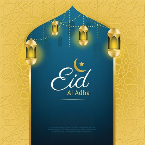 Eid al Adha Vektor-Design vektor