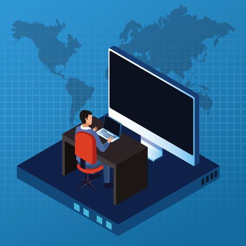 Digital teknologi vektor