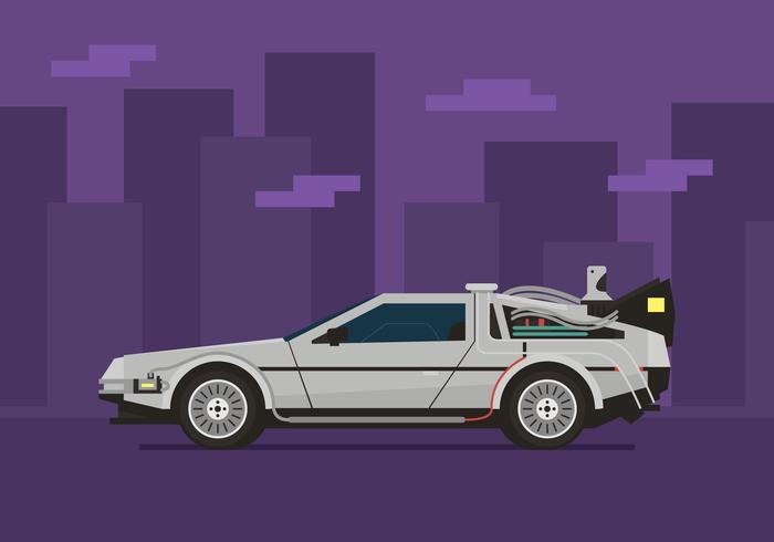 Robot futuristiskt bilbegrepp vektor