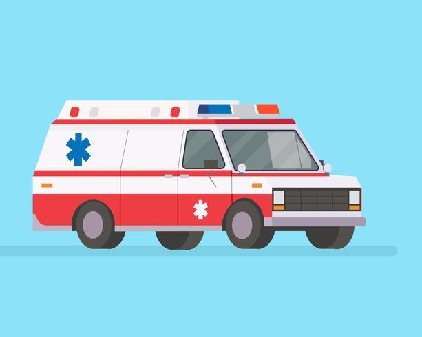 Ambulans vektor