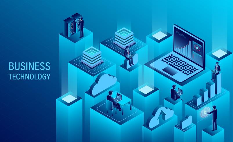 Digitale Technologie vektor