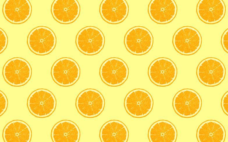 Orange mönster vektor
