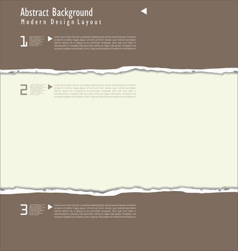 sönderrivet papper bakgrund vektor