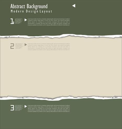 zerrissenes Papierhintergrund vektor