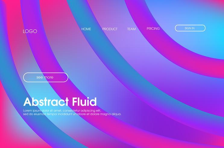 Bakgrundsdesign för flytande färg vektor