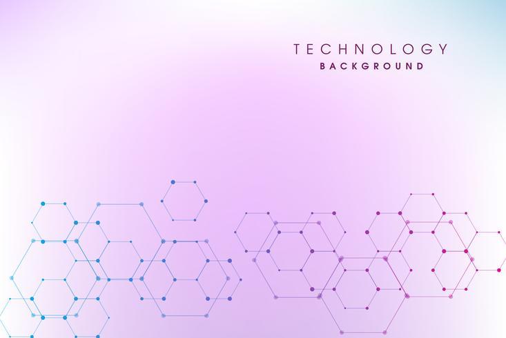 Abstrakt högteknologisk bakgrund vektor